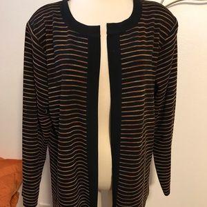 Misook jacket size 1x